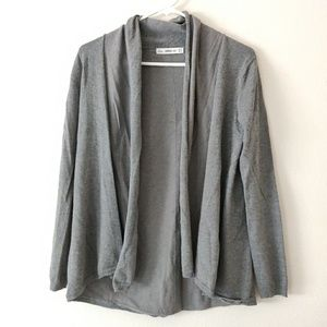 Zara Knit Gray Grey Cardigan